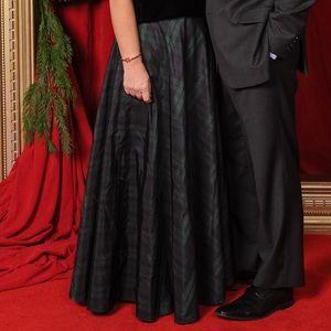 Talbot's plaid ball gown skirt - size 6 - EUC